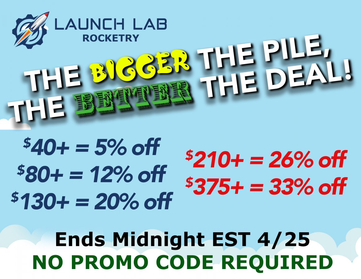 Launch Lab The Bigger The Pile Sale.jpg